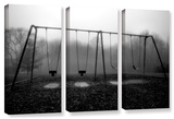 Silent Swing  3 Piece Gallery-Wrapped Canvas Set