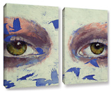 The Crow Is My Only Friend  2 Piece Gallery-Wrapped Canvas Set
