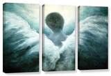Ascending Angel  3 Piece Gallery-Wrapped Canvas Set