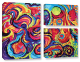 Birth  3 Piece Gallery-Wrapped Canvas Flag Set