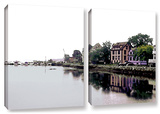 Fishing Village Nova  2 Piece Gallery-Wrapped Canvas Set