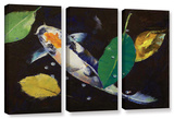 Kumonryu Koi  3 Piece Gallery-Wrapped Canvas Set