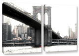 Nyc'S Brooklyn Bridge  2 Piece Gallery-Wrapped Canvas Set