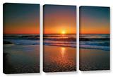 Morning Has Broken Ii  3 Piece Gallery-Wrapped Canvas Set