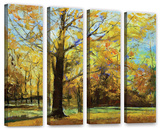 Shades Of Autumn   4 Piece Gallery-Wrapped Canvas Set