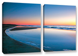 Sea And Surf  2 Piece Gallery-Wrapped Canvas Set
