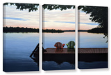 Tranquility  3 Piece Gallery-Wrapped Canvas Set