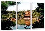 Kinkakuji  3 Piece Gallery-Wrapped Canvas Set