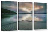 At Ease  3 Piece Gallery-Wrapped Canvas Set