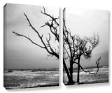 Hanging On  2 Piece Gallery-Wrapped Canvas Set
