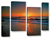 Morning Has Broken Ii  4 Piece Gallery-Wrapped Canvas Staggered Set