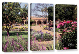 Mission San Juan Capistrano Ii  3 Piece Gallery-Wrapped Canvas Set
