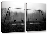 Silent Swing  2 Piece Gallery-Wrapped Canvas Set