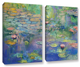 Water  2 Piece Gallery-Wrapped Canvas Set