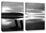 Still Waters  3 Piece Gallery-Wrapped Canvas Flag Set