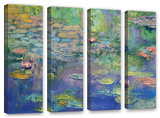 Water  4 Piece Gallery-Wrapped Canvas Set