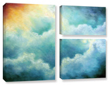 Evidence Of Angels  3 Piece Gallery-Wrapped Canvas Flag Set