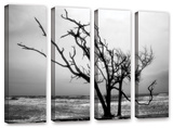 Hanging On  4 Piece Gallery-Wrapped Canvas Set