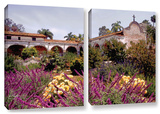 Gardens Of Mission San Juan Capistrano  2 Piece Gallery-Wrapped Canvas Set