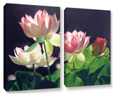 Andrea'S Lilies  2 Piece Gallery-Wrapped Canvas Set