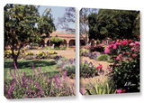 Mission San Juan Capistrano Ii  2 Piece Gallery-Wrapped Canvas Set
