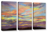 Atahualpa Sunset  3 Piece Gallery-Wrapped Canvas Set