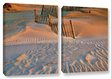 Dune Patterns Ii  2 Piece Gallery-Wrapped Canvas Set