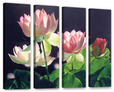Andrea'S Lilies  4 Piece Gallery-Wrapped Canvas Set