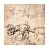 Study for an Engraving of the Prodigal Son
