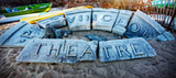 Provincetown Theater Sign Ruins