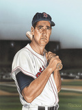 Ted williams Portrait