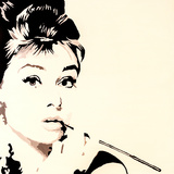 Just Smokin Audrey Hepburn