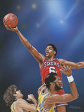 Dr J Going to the Rim
