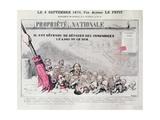 Defense De Deposer Des Immondices Le Long De Ce Mur  Caricature of Second Empire Politicians