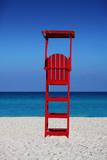 Caribbean Beach Lifegaurd Stand