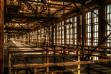 Abandoned Power Plant Interior