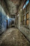 Abandoned Interior Corridor