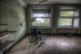 Wheelchair in Empty Room