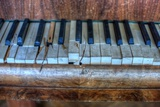 Old Broken Piano