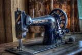 Old Sowing Machine