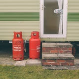 Gas Bottles by Caravan