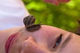 Snail on Face