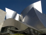 Walt Disney Concert Hall  Part of Los Angeles Music Center  Frank Gehry Architect  Los Angeles