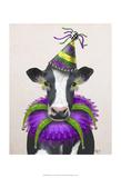Mardi Gras Cow