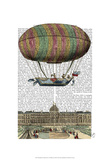 Jardin De Tuileries Hot Air Balloon