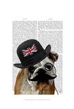 British Bulldog and Bowler Hat