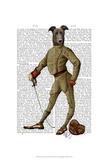 Greyhound Fencer Dark Full