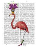 Mardi Gras Flamingo Full