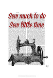 Sew Little Time Illustration
