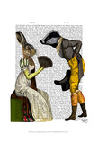 Look Of Love Regency Badger & Hare Couple
